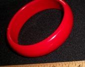 Red Plastikos Bracelet