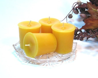 Votive candles 4 pack Harvest Spice scent