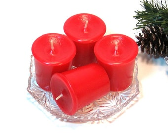 Votive candles 4 pack Yuletide scent