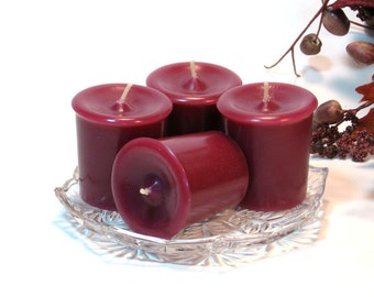 Votive candles 4 pack Mulberry scent