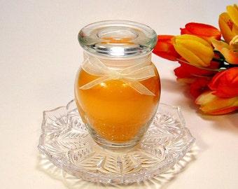 4 oz. Apothecary Jar Candle Mango and Papaya scent