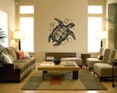 Sea Turtle Vinyl Wall Art Decals