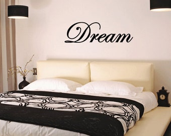 BIG Dream - Vinyl Wall Quote Decal