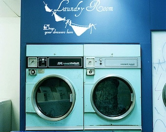 Laundry Room 2 - Vinyl Wall Quote Decal