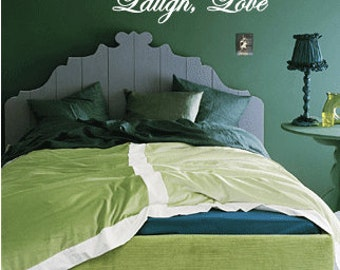 Live Laugh Love - Vinyl Wall Quote Decal