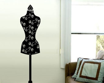 MANNEQUIN Wall Decals