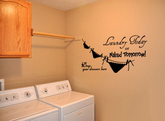 Laundry Room Vinyl Wall Quotes Big Laundry Room 4 Vinyl Wall Quote Decal