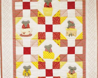 Mini Mice quilt pattern