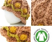 Modern Tulip Organic Baby/Toddler Hat & Donation in Rose