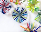 Glass Magnets Office Supplies Decor Happy Colorful Mod Retro Blue - dtteam tagt teamcamelot