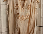 SALE 70's Drawstring Blouse