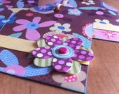 On a Whim 4-Piece Large Embellished Paper Tag Set