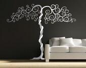 Vinyl Wall Art Tree decal - TANGO