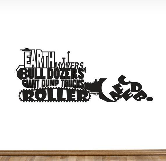 Earth Movers Bull Dozers Giant Dump Trucks Roller