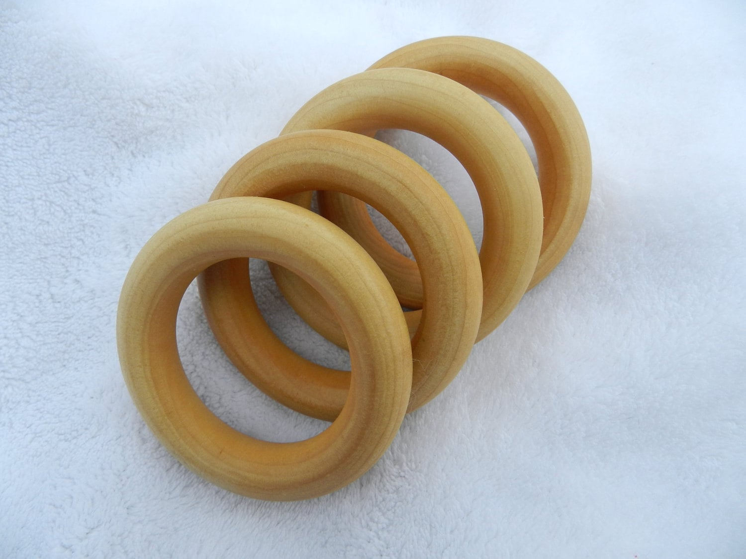 How To Finish Wood Teething Ring