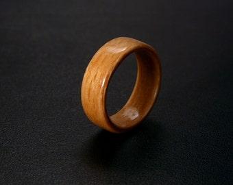 Handmade Bentwood Birch Wood Ring