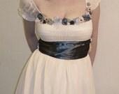 Spring Maiden Vintage Petticoat Peasant Dress