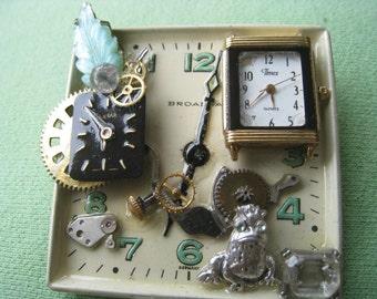Steampunk Pin, Square time