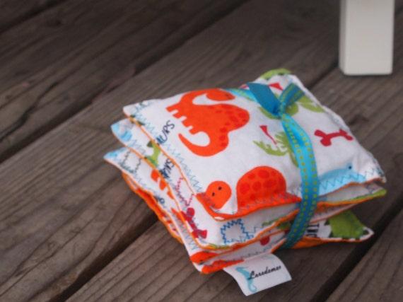 Dinosaur Stomp Bean Bag Toys Set of Four