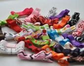 Rainbow Hair clips, Grab bag,Infant hair clips, Toddler hair clips, Clippees, Set of 8 hair clips