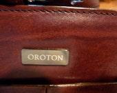 OXBLOOD DESIGNER LEATHER Oroton Bag Australia
