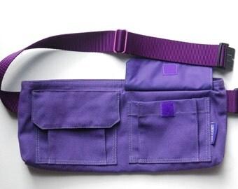 Libertybelt Travel Bag - Purple Canvas