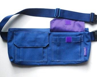 Libertybelt Travel Bag - Royal Blue Canvas