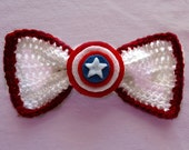 Superhero Bow Collection (Captain America) (Large)