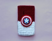 Captain America Phone Case iPhone 4, 4s or 5