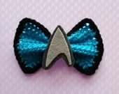 Star Trek Bow Collection: Science Blue (Medium)