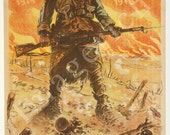 World War 1 Poster - They shall not pass. 1914. . . 1918. Twice I held on and defeated the Marne