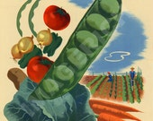 World War II Poster - Your Victory Garden Counts More Than Ever