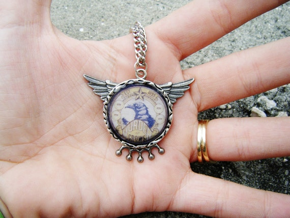 Bioshock Infinite Murder of Crows Necklace II