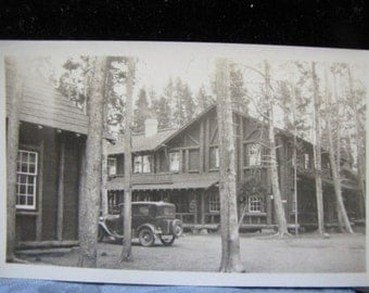 Antique Photo Housekeeping Cabins Western USA 1930s