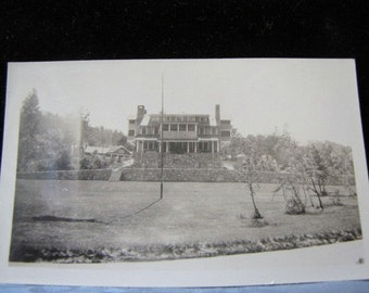 Antique Photo State Game Lodge Custer State Park Black Hills SD 1930s