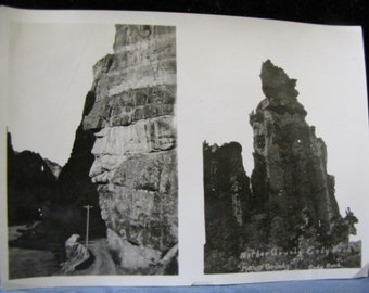 Double Antique Photo Mother Grundy Cody Road 1930s