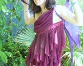 Vintage Curtain Call Glitter One piece Dance Costume by KitKatCabaret on Etsy