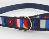 Nautical Flags Children's Belt
