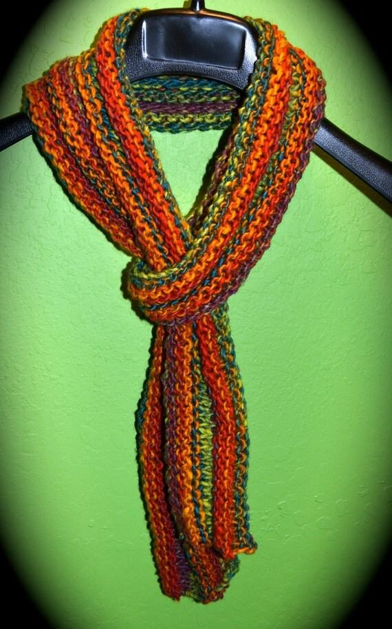 Desert Sunset handmade scarf fall fashion