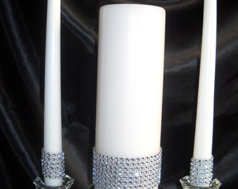 Bling Unity Candle Set