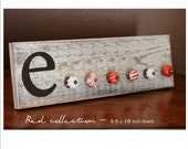 Jewelry Rack - Thick Shabby Chic Style - RED collection