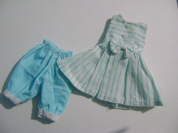 Dress whit bloomers for Dal Blythe Pullip and Obitsu