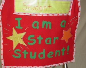 Star student chair sack