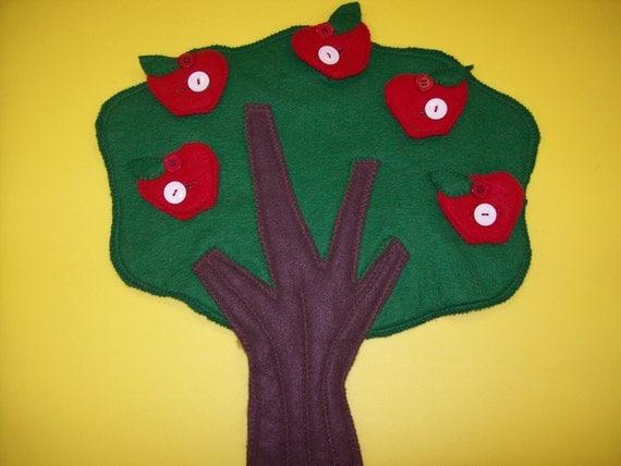 custom designed button tree