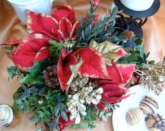 Winter Wedding Table Decor, Christmas Table Centerpiece,Table Setting, Table Top Decor