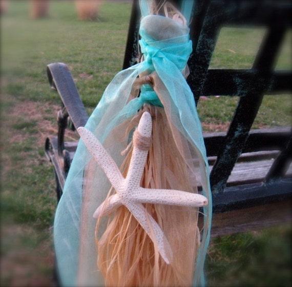 Items similar to beach bridal shower decor starfish for Beachy decor items