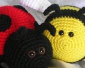 Burt and Laurel - Amigurumi Crochet PATTERN ONLY (PDF)