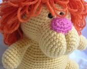 Leonard the Lion - Amigurumi Crochet PATTERN ONLY (PDF)