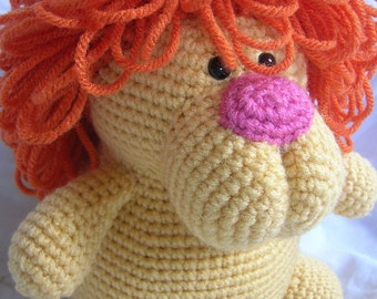 Leonard the Lion - Amigurumi Crochet PATTERN ONLY (PDF)