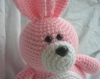 Bella the Bunny - Amigurumi Plush Crochet PATTERN ONLY (PDF)